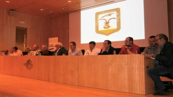 Asamblea ordinaria de la Federación Aragonesa de Caza.