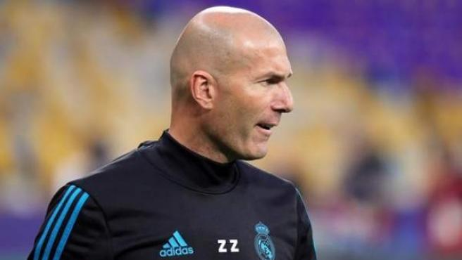 Zidane, exentrenador del Real Madrid.