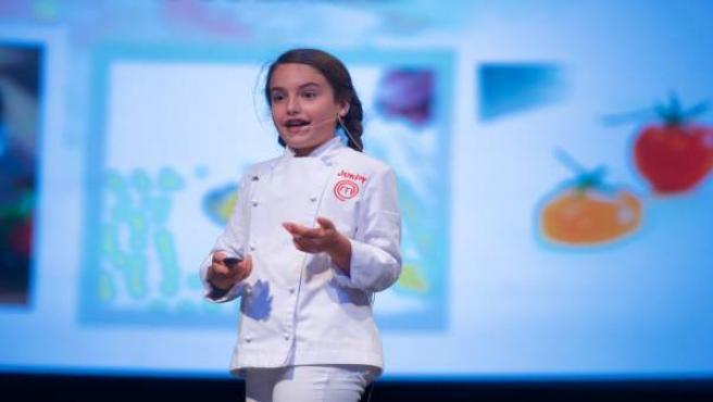 Esther Requena, ganadora de Masterchef Junior 5