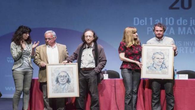 Valladolid.- Un momento de la entrega del premio