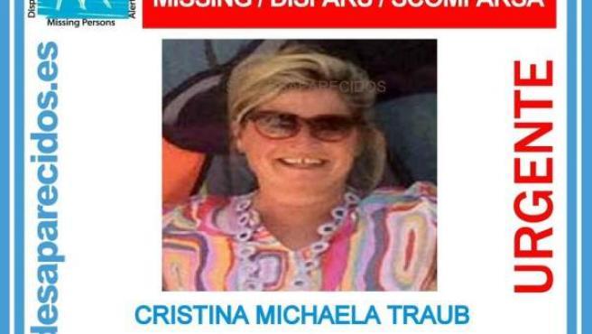 Mujer de 57 años desaparecida en Ibiza.