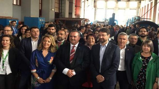 Isaac Pola en la III Feria de Turismo Minero e Industrial