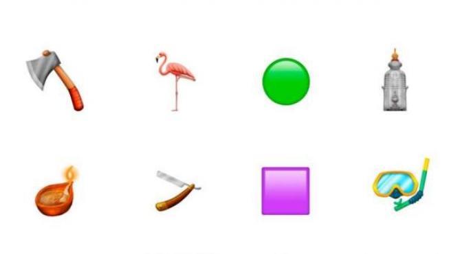 Nuevos emojis que pueden entrar en vigor en 2019.