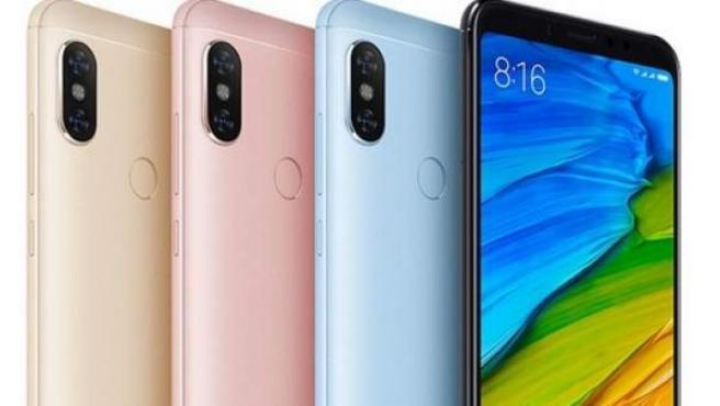 El Xiaomi Redmi Note 5, uno de los terminales más populares y vendidos de este momento.