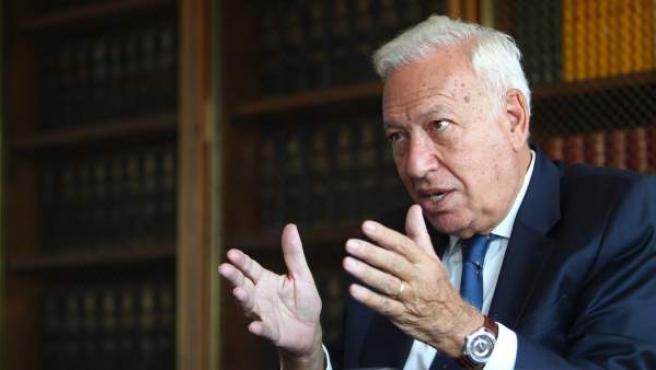 José Manuel García-Margallo, diputado del Partido Popular y exministro de Asuntos Exteriores.