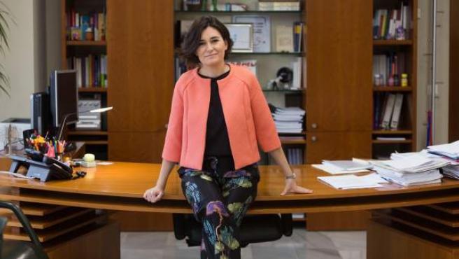 Carmen Montón, consellera de Sanitat de la Comunitat Valenciana.