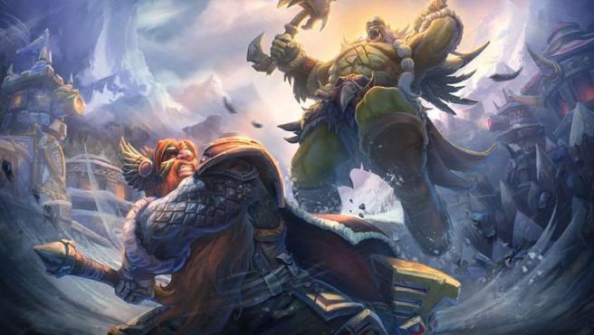 Ilustración de 'Ecos de Alterac', el evento de 'Heroes of the Storm' ambientado en 'World of Wacraft'.