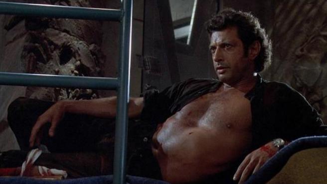 Jeff Goldblum, muy a favor de la erótica gay con dinosaurios