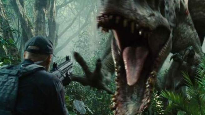 Fotograma de 'Jurassic World'.