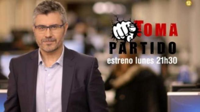 Miguel Ángel Oliver, presentador de 'Toma Partido'.