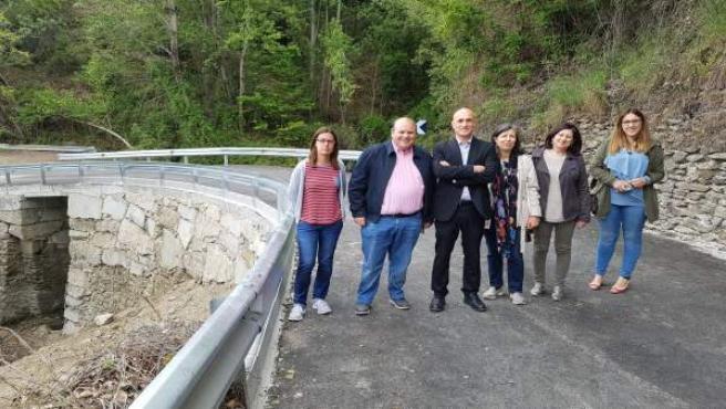 La Junta finaliza las obras de emergencia en la A-4030, en Güéjar Sierra
