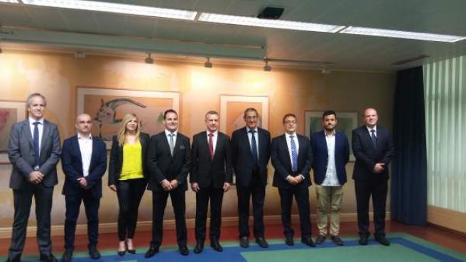 El lehendakari recibe al consejo rector de la cooperativa alavesa Udapa