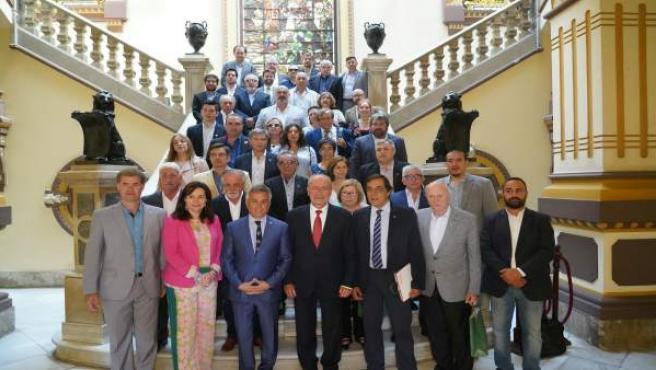 De la Torre recibe a empresarios argentinos