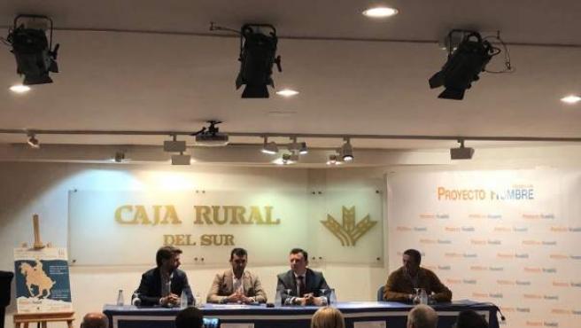 Presentan la IV edición del espectáculo de Doma Vaquera para Proyecto Hombre.