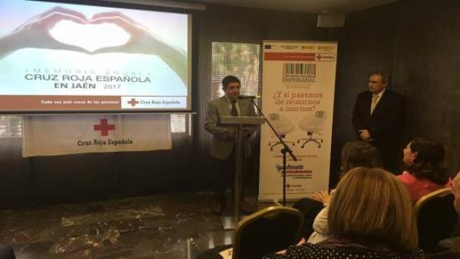 Presentación de la Memoria Anual de Cruz Roja