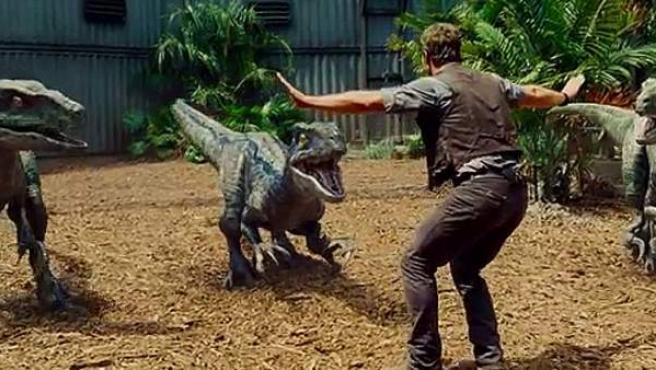 Escena de la película 'Jurassic World'.