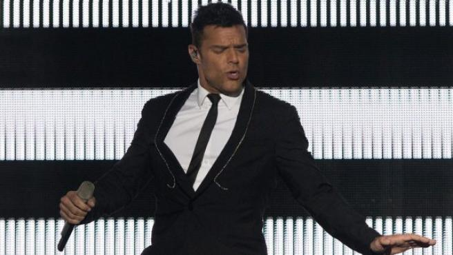 Imagen de archivo del cantante Ricky Martin en el Festival Presidente.