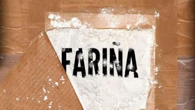 Detalle de la portada del libro 'Fariña', de Nacho Carretero.