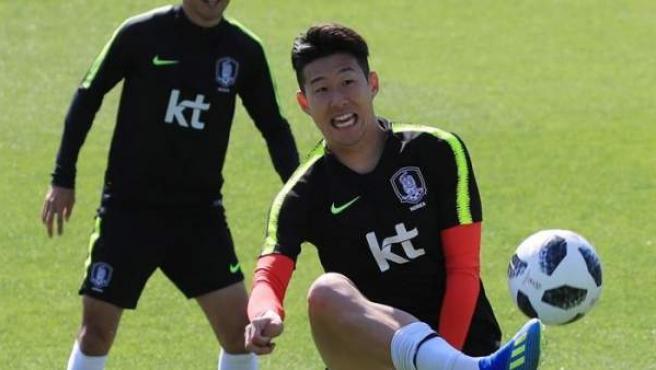 Son Heung-Min, la gran estrella de la República de Corea.
