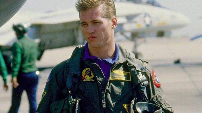 Val Kilmer, en una imagen de la película 'Top Gun' (1986).