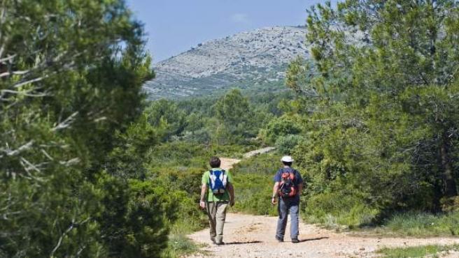 Senderismo, turismo, montaña