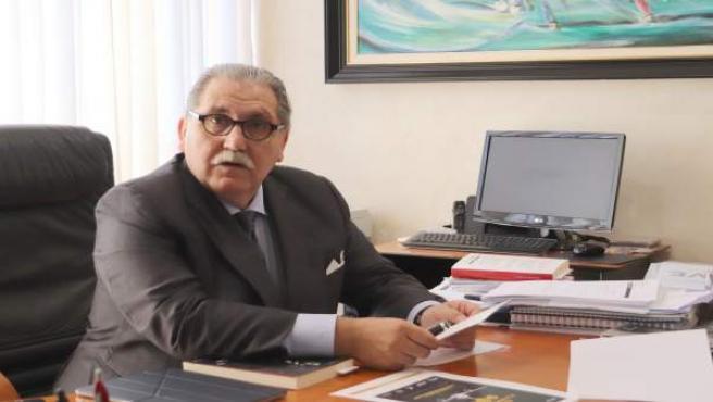 El presidente de la Cámara de Comercio, Manuel Teruel.