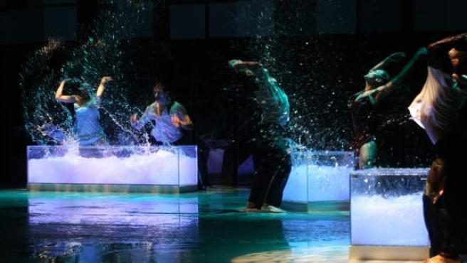 Espectáculo de Quorum Ballet, presente en el Festival de Itálica