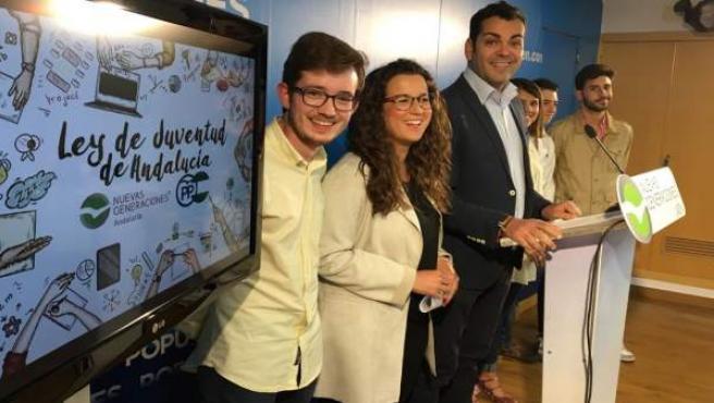Rueda de prensa del PP sobre Ley de Juventud