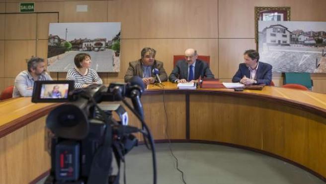 Mazón proyectos de obra de titularidad municipal cofinanciados por el Gobierno
