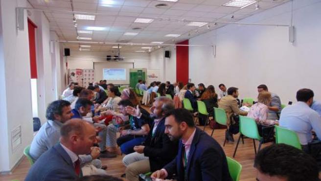Empresarios participantes en el encuentro