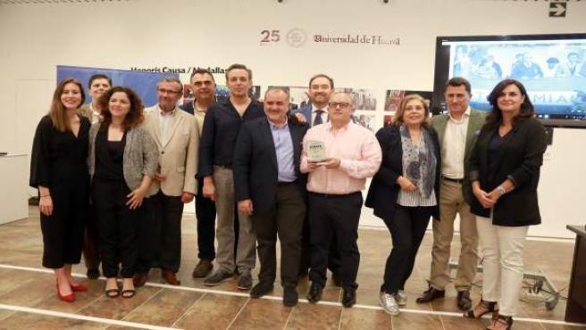 Acto de entrega del Premio Huelva de Periodismo 2017