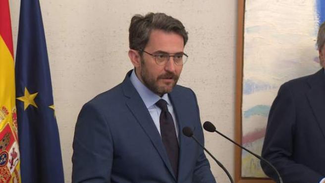 Màxim Huerta promete compromiso con el deporte