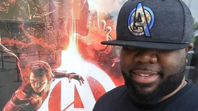 Nem, The Infinity Watcher, el fan de Marvel que ha visto 'Infinity War' 45 veces.