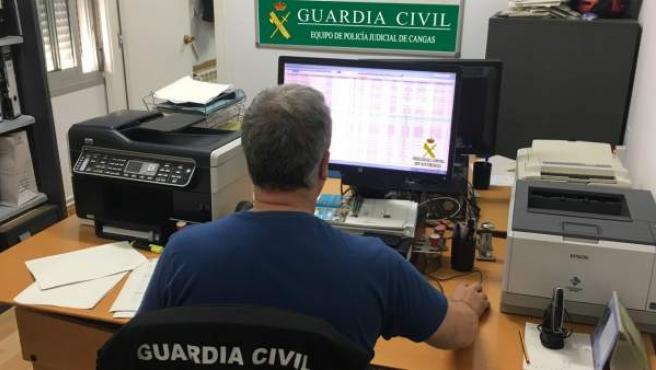 Nota de prensa de la Comandancia de la Guardia Civil de Pontevedra.