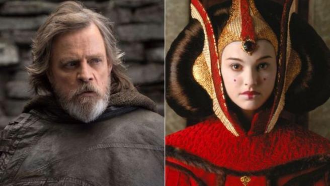 Luke Skywalker nunca conoció a su madre (y Mark Hamill, tampoco)