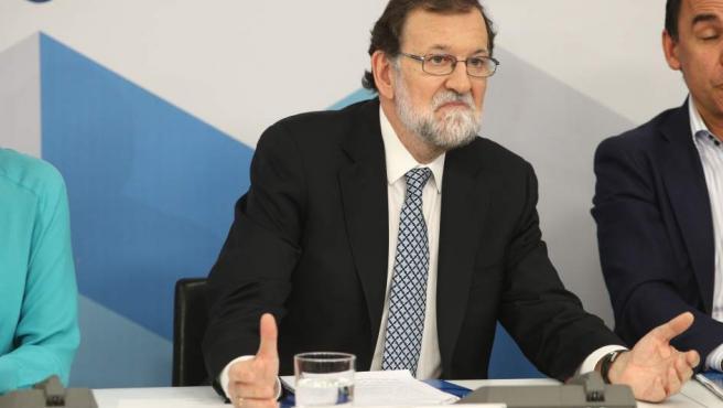 Rajoy interviene en la reunión del Comité Ejecutivo Nacional del PP