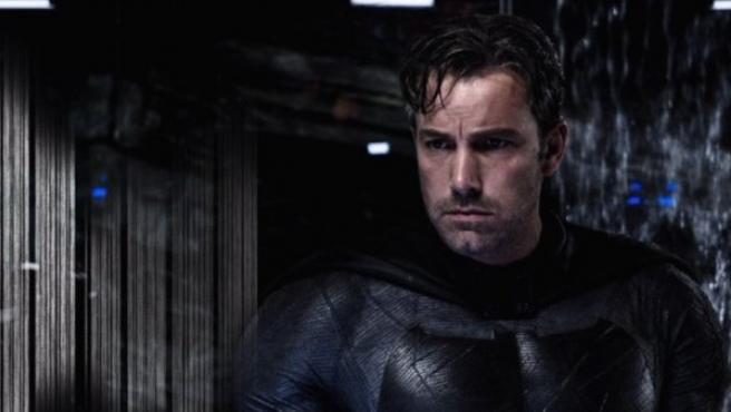 Ben Affleck, caracterizado como Batman.
