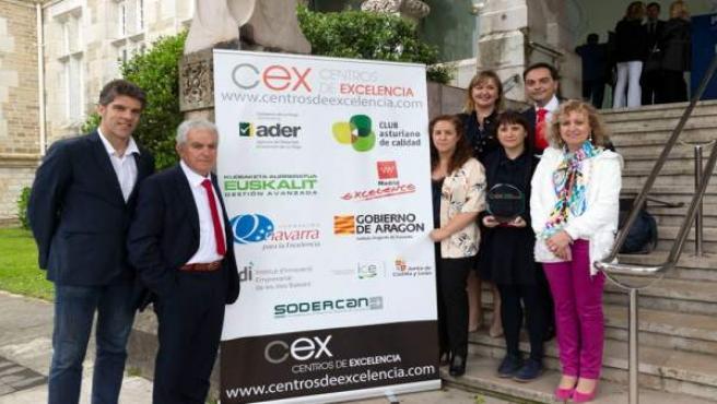 Entrega del Premio CEX 2018 a Vitrinor