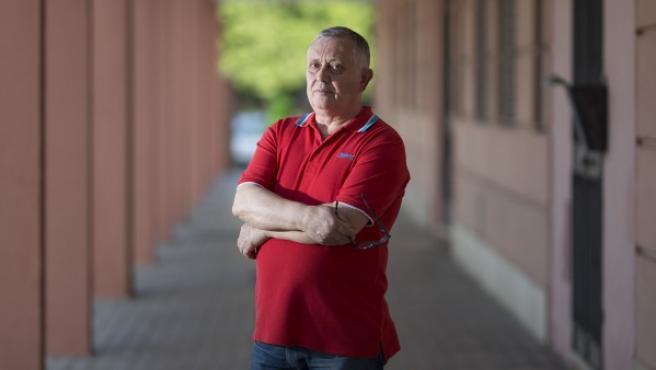 Pedro Pérez, sevillano de 59 años que lleva más de dos años desempleado.