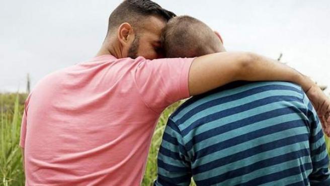 Imagen difundida por el colectivo marroquí de gays y lesbianas Akaliyat.
