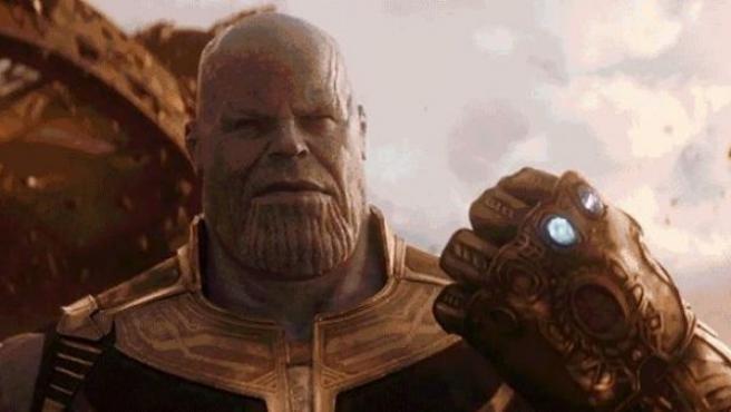 Fotograma de Vengadores: Infinity War, dirigida por Joe Russo y Anthony Russo.