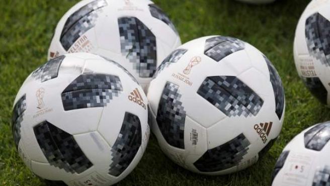 El balón del Mundial de 2018.
