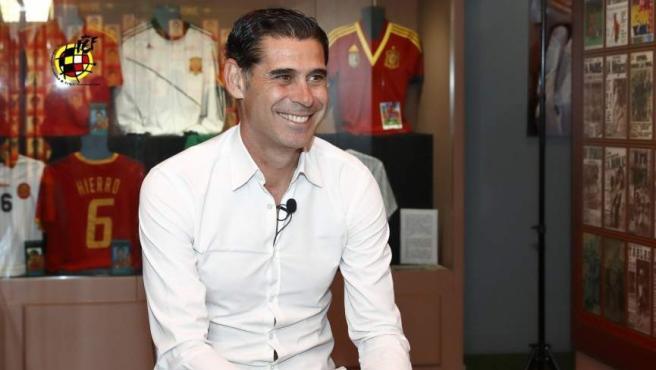 Fernando Hierro, nuevo seleccionador español.