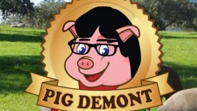 Logo de la empresa Pig Demont.
