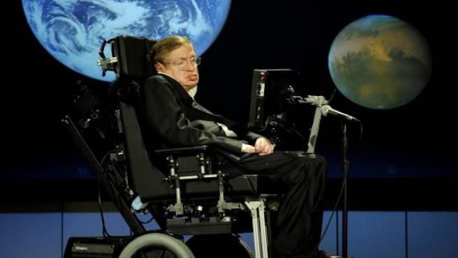 El científico Stephen Hawking, en la Universidad de Cambridge.
