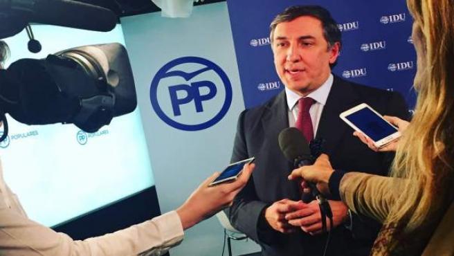 José Ramón García-Hernández, secretario de Relaciones Internacionales del PP