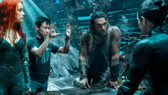 James Wan y DC ponen fecha al tráiler de 'Aquaman'