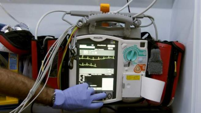 Electrocardiograma de SAMU-061.