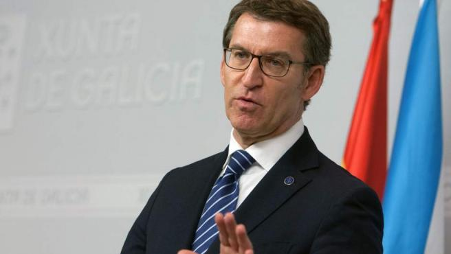 Alberto Núñez Feijóo, presidente de la Xunta.