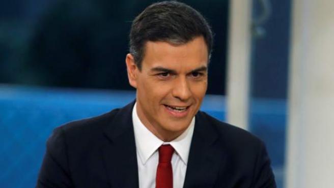 Pedro Sánchez, en TVE.